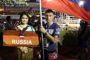 March 12 - 24, 2103 - Omsk Champions Muay Thai
