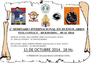 October 11, 2014 - Argentina, Master Raul Edgardo Soria