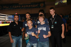 August 18, 2013 -  European Championship Muay Thai (WMF-EMC)